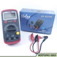 IdMarko Multitester Avometer Digital utk Kapasitor Heles UX-933TR -