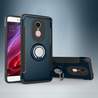 Redmi 3X Phone Case New Armor with Ring Holder Stand Hard PC Back