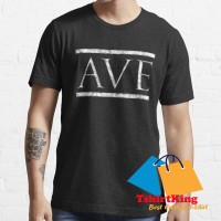 T-Shirt Distro King Ave Roman Latin Greeting and Farewell in Marble 17