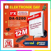 Antena TV Digital DVB T2 Antena TV Android LED 4K UHD PX DA-5200