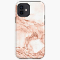 Casing Rose gold marble texture phone cover case Oppo F3 F5 F7 F9 F1S