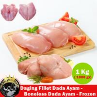 Ayam Fillet Dada/ Boneless Chicken Fillet Breast 500 gr dan 1 Kg