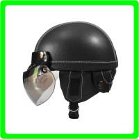 NEW Retro Helm Anak Kaca Model Bogo Warna Hitam