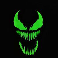 [Vt] - Kaos Baju Anak Venom Glow In The Dark Tshirt Karakter