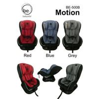 Car Seat Baby Elle Motion BE-500B - Abu-abu