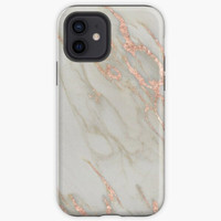 Case Marble Rose Gold Marble Metallic Blush Pink Oppo F3 F5 F7 F9 F1S