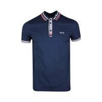 Hugo Boss Paule 5 Air Cool Stretch Cotton Polo Shirt - Navy