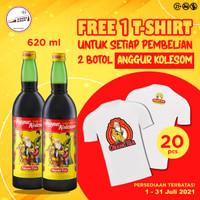 Beli 2 Anggur Kolesom 17 620mL FREE T-Shirt