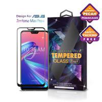 Tempered Glass Asus Zenfone Max Pro M2 Full Cover Black - Glass Pro