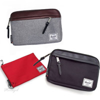 Herschel Cosmetic Toiletry Bag Pouch Electronic Accessories Organiz 7a
