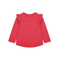 Mothercare Baby Red Broderie T-Shirt - Kaos Bayi (Merah)