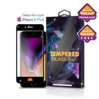 Tempered Glass iPhone 6 Plus Full Cover Black - Premium Glass Pro