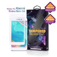 Tempered Glass Xiaomi Redmi Note 5A Full Cover White - Glass Pro