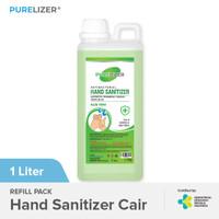 Hand Sanitizer Cair 1 Liter PURELIZER Aseptic 1L [ Izin KEMENKES RI ]