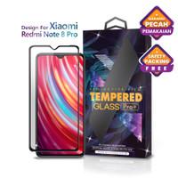 Tempered Glass Xiaomi Redmi Note 8 Pro Full Cover Black - Glass Pro