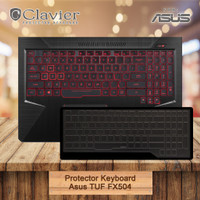 TUF Cooskin Cover Asus FX504GE Protector FX504GM Keyboard FX504GD