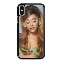 Casing iPhone XS Max Ariana Grande Positions Clip Video P2689