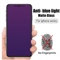 iPhone Xs Max XR X 11 Pro 6 6S 7 8 Plus Anti Blue Ray Frosted Matte
