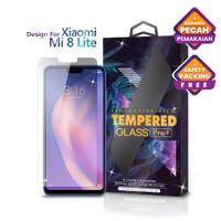 Tempered Glass Xiaomi Mi 8 Lite Clear Transparan - Premium Glass Pro