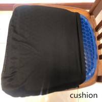 Bantal Duduk Ice Pad Gel Cushion Non Slip Massage Office Chair - Blue