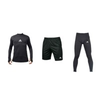 1 Futsal Sepeda Manset Baselayer 3 in Mancing Bola Sepak Paket Baju Re