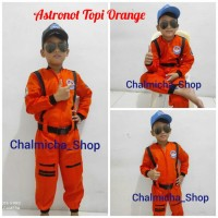 Angkasa Junior NASA Baju Pesawat Anak Astronot Kostum Seragam Luar Pil
