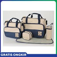 Baru JE Baby Travel Bag BEAR 5in1 B58 Tas Perlengkapan Bayi BEAR Brand