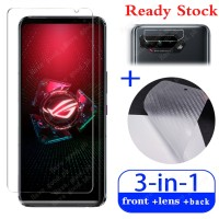 3 in 1 9H Premium Quality Screen Protector Tempered Glass Asus ROG Ph