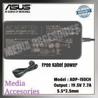 New adaptor charger asus ROG GL 503 GL 503V GL 503GE 19.5V-7.7A Ori