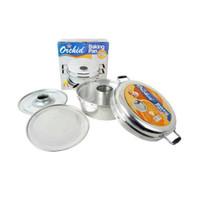 Baru Backing Pan Orchid 28 - Alat Pencetak Kue Bolu 8 Telur hg