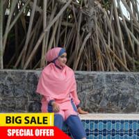 RF852 New Baju Renang Muslimah Busui pakaian renang wanita hamil Baju