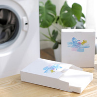24pcs box Color Absorption Cleaning Clothes Mixed Household Supplie x0