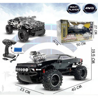MOBIL REMOTE CONTROL MONSTER 4WD ROCK CRAWLER