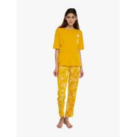 Marks & Spencer - Baju Tidur Wanita - Short Sleeve Tropical Pyjama