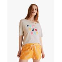 M&S - Celana Tidur Wanita -Pure Cotton Tropical Print Shorts
