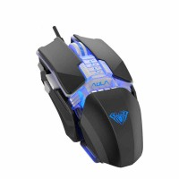Yukbeli AULA H508 Wired Gaming Mouse Side Wings Replacable 7 Buttons