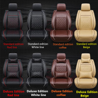 PU Leather Car Seat Cover Universal Fit Most cars NISSAN MARCH MICRA