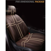 HeXinYan Leather Universal Car Seat Covers Nissan March Teana qashqai