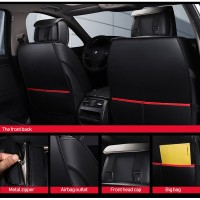 Auto Pu Leather Car seat covers toyota fortuner aygo prius mazda prem