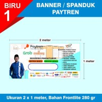 Banner/Spanduk Loket Resmi Agen Paytren 5.17 terbaru 200x100
