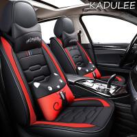 KADULEE leather car seat covers honda freed stream accord 2018 crv ci