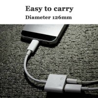 Adapter Lightning to AUX 3.5mm Headphone iPhone 7 8 X