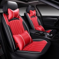 leather 5 seats car seat cover honda civic accord fit CRV XRV URV Ody