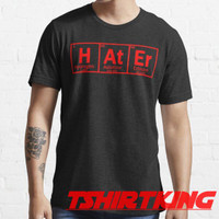 T-Shirt Distro TK periodic spelling of word Hater 395149
