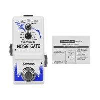Gd Ammoon Pedal Efek Gitar Single Noise Gate Bahan Zinc Alloy Dengan