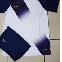 Jersey setelan futsal galaxy navy baju bola dewasa pakaian Murah