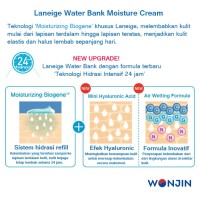 Laneige Water Bank Moisture Cream EX 50 ml Original Full Size BONUS