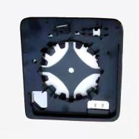Rear View Mirror Antirain Fog LED Indicator Function Alarm Radar Sys