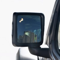 Car Alarm BSD Radar Detector Blind Spot Detection LED Antirain Side