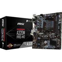 MSI A320M PRO-M2 AMD A320 AM4 DDR4 Micro ATX Motherboard JK11